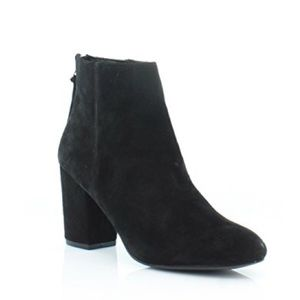 Steve Madden Suede Block Heel Ankle Boots Size 9.5